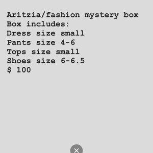 Aritzia/fashion mystery box!
